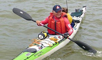 Rod Smith paddles 2,000km on the Murray River